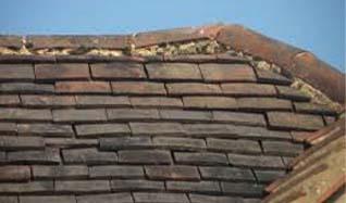 Slipped Roof Tiles